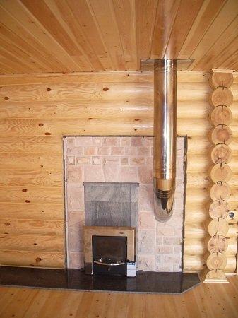 Строительство дымоходов для каминов и печей