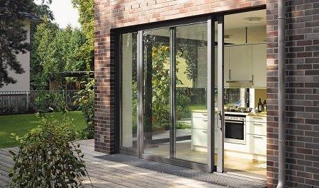 Какую входную раздвижную дверь лучше поставить, купить?